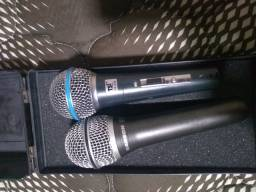 Microfones Sanson e TSI