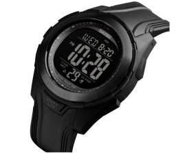 Relógio Militar SKMEI 1503 Black led unissex A Prova D'Água 5ATM ENTREGA GRÁTIS*
