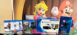 Título do anúncio: Vr Sony a pronta entrega. Conheça a maior loja de games do ABC!