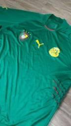 Camisa Camarões relíquia original 2002
