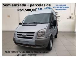 Ford Transit - Sem entrada mais Parcelas de R$1.500,00