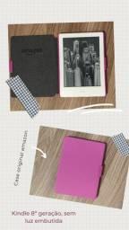 Kindle 8ª geração + case original amazon