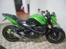 Kawasaki z750 2012 bicolor moto estado zero!!!