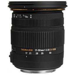 Lente Sigma DC 17-50mm F/2.8 ex os Para Nikon - 12X Sem Juros
