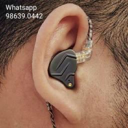 Kz Zsn Pro Headphone Fone de Ouvido Ponto In Ear Retorno (Novo, aceito cartão)