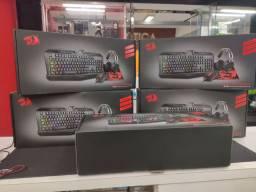 Combo redragon - Headset, teclado e mouse