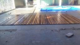 Tampa/Capa enrolável Em Deck De Madeira para Jacuzzi/spa/banheira/Ofurô/Piscinas