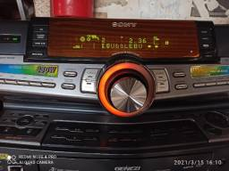 Mini system sony relíquia torrando