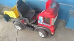 Caminhão e carro para criança