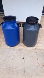 Tambor pra leite usado 50 litros