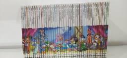 Coleção completa de gibis Disney clássicos da literatura Disney 1 ao 40