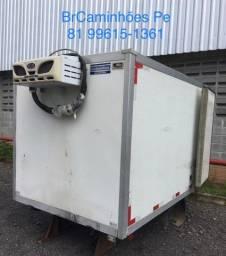 Baú frigorífico para hyundai HR c/ aparelho