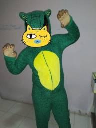 Pijama Kigurumi Jacaré