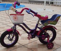 Bicicleta infantil Nitro Betsy.  Cor pink, aro 16