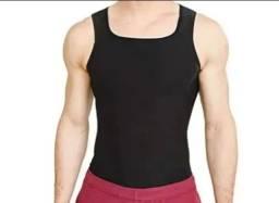 Camiseta Térmica Redutora De Medidas Efeito Sauna Masculina Com Zíper e Sem Zíper
