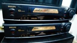 video k7 Philips 6 cabeças  Hi Fi funcionando perfeito leia anuncio Apucarana