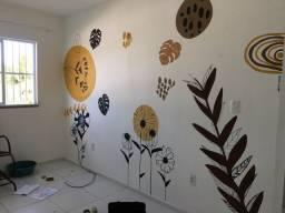 Faço arte em parede agende já a sua!