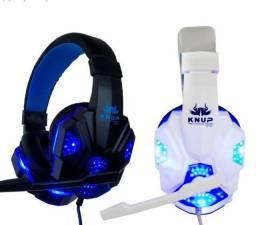 Fone  Gamer LED