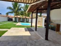 Baixou R$ 498.000 - Casa 180m² reformada, piscina, cond Mares do Sul região do Francês
