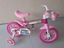 Bicicleta Infantil Nathor Aro 12 - Flower