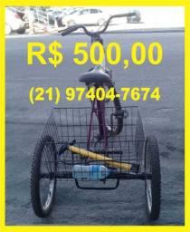 Bicicleta Triciclo de Adulto