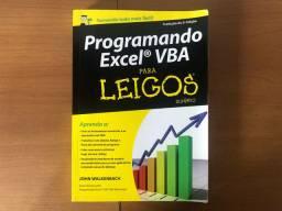 Livro Programando Excel VBA para Leigos