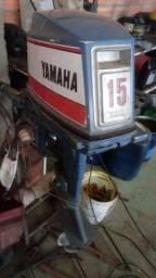 motor barco yamaha 15 ( 4.000 reais )