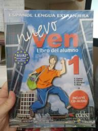Livro Espanhol Nuevo Ven 1
