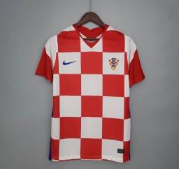 Camisa Croácia tailandesa 2021 TAM G