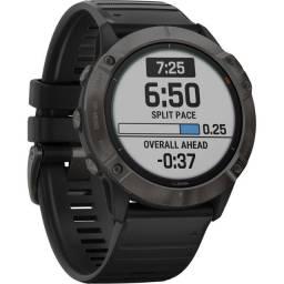 Relogio GPS Garmin Fenix 6X Pro Solar 010-02157-20 - Preto