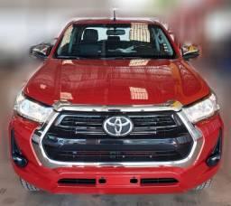 Toyota Hilux SRV 2021 4x4 Diesel 0Km Vermelha