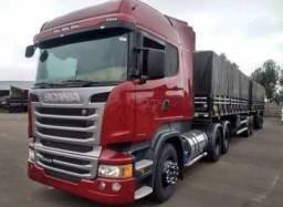 Scania R-440 2014/15 Engatado Bitrem 7 eixos c/ Pneus