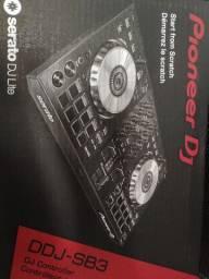 Controladora Pioneer DJ ddj sb3 serato nova na caixa