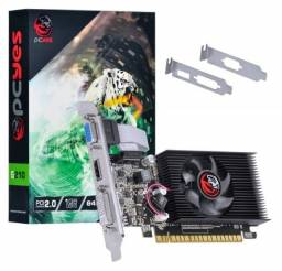 Placa de video Nvidia Geforce G 210 1Gb Ddr3 64 Bits