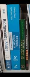 5 livros variados temas de estudos fisioterapeutico