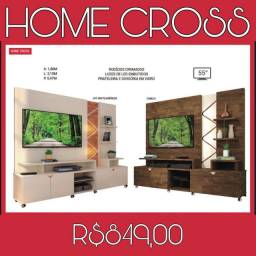 Home p/tv ate 55 polegadas Cross (PROMOÇAO)