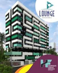 Lounge Residence - Invista a 250m Praia de Cruz das Almas - Quarto e Sala