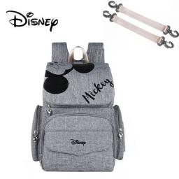Mochila maternidade Disney+trocador+ ganchos