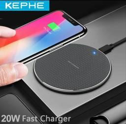Carregador wireless Indução Fast Charger 20w