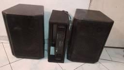 Caixas passivas + Amplificador
