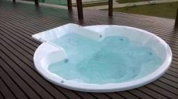 TA - Spa de fibra 8 pessoas - Fábrica Alpino piscina Divinópolis