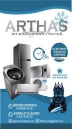 Manutenção Geladeira/Maquina de Lavar/Ar Condicionado - Lauro