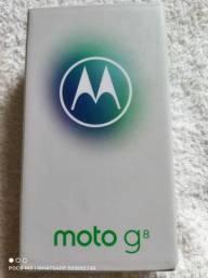 Moto g8 64gb azul capri lacrado