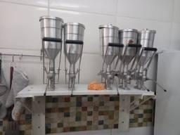 Maquina de rechear churros