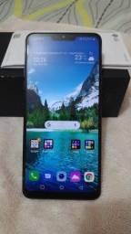 Vendo ou troco LG G7 thinQ Novo. 8 meses garantia.