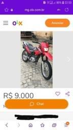 Broz 150 esd completa / avista negocia o preço/ 9.000