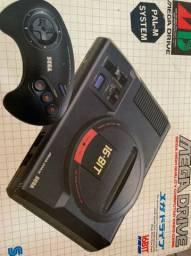 Vendo mega drive funcionando perfeitamente game muito novo ideal para quem coleciona