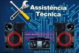 Assistência técnica especializada em Som Sony/Lg/Samsung (Atendemos em domicílio)