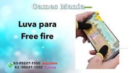 Luva para Free fire