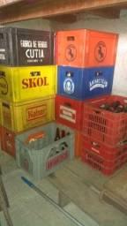 Engradados de Cerveja (padrão) cada caixa R$ 20,00